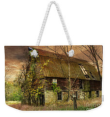 The Abandoned Barn Weekender Tote Bag