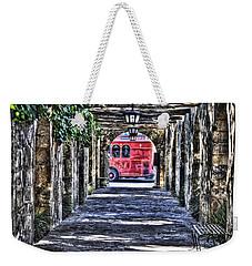 Weekender Tote Bag featuring the photograph The Alamo by Deborah Klubertanz