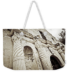 The Alamo Weekender Tote Bag by Linda Unger