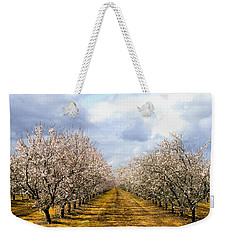 The Almond Orchard Weekender Tote Bag
