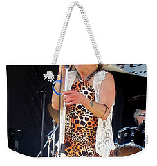 The Amazing Lydia Pense Weekender Tote Bag by Fiona Kennard