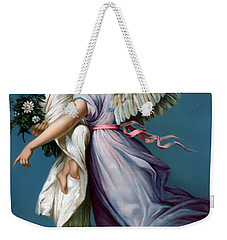The Angel Of Peace For I Phone Weekender Tote Bag