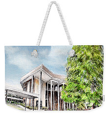 The Angles Of A Modern Architecture  Weekender Tote Bag by Danuta Bennett
