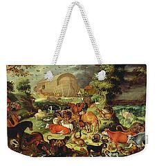 The Animals Entering The Ark Weekender Tote Bag