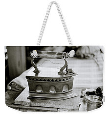 The Antique Iron Weekender Tote Bag
