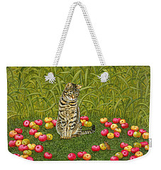 The Apple Mouse Weekender Tote Bag by Ditz