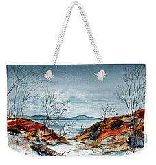 The Approaching Evening Weekender Tote Bag