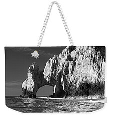 The Arch Cabo San Lucas In Black And White Weekender Tote Bag by Sebastian Musial