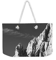 The Arch In Black And White Weekender Tote Bag