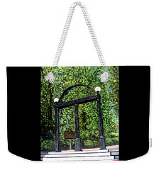 The Arch At Uga Weekender Tote Bag