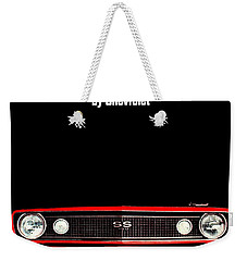 Weekender Tote Bag featuring the photograph The Arrival by Benjamin Yeager