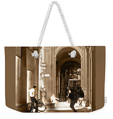 The Art Of Love Italian Style Weekender Tote Bag