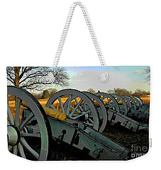 The Artillery Weekender Tote Bag by Cindy Manero