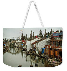 The Asian Venice  Weekender Tote Bag by Lucinda Walter