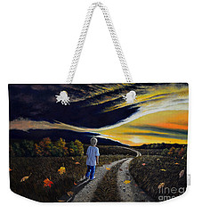 The Autumn Breeze Weekender Tote Bag
