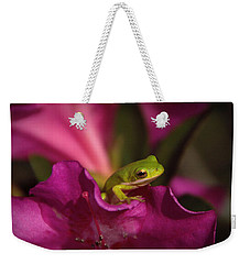 The Azalea Bed Weekender Tote Bag