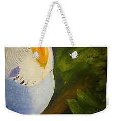 The Baby Parakeet - Budgie Weekender Tote Bag
