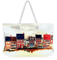 The Back Of The Strand Weekender Tote Bag