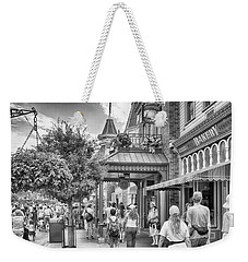 Weekender Tote Bag featuring the photograph The Bakery by Howard Salmon