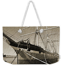 The Balclutha Weekender Tote Bag by Holly Blunkall
