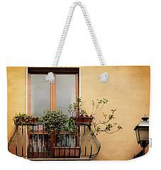The Balcony Weekender Tote Bag