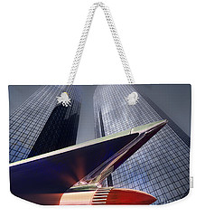 The Bank Weekender Tote Bag