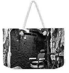 The Barber Chair - Bw Weekender Tote Bag