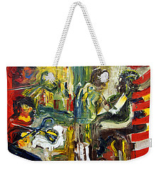 The Barbers Shop - 1 Weekender Tote Bag
