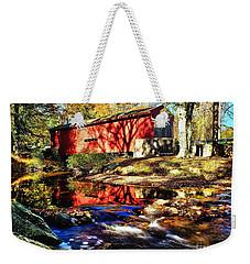 The Bartram Coverd Bridge Weekender Tote Bag
