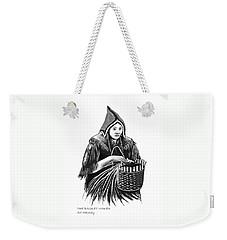The Basket Maker Weekender Tote Bag