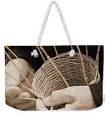 The Basket Weaver Weekender Tote Bag