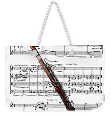 The Bassoon Weekender Tote Bag