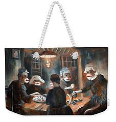 Tater Eatin Weekender Tote Bag by Randy Burns