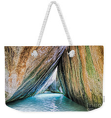 The Baths Virgin Gorda British Virgin Islands Weekender Tote Bag