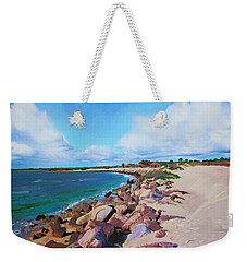 The Beach At Ponce Inlet Weekender Tote Bag