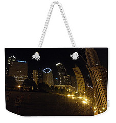 Weekender Tote Bag featuring the photograph The Bean by Tiffany Erdman