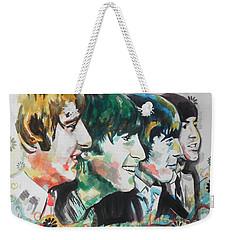 The Beatles 01 Weekender Tote Bag