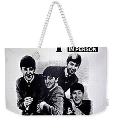 The Beatles Circa 1964 Weekender Tote Bag