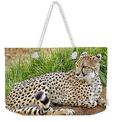 The Beautiful Cheetah Weekender Tote Bag