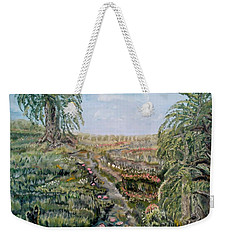 The Beauty Of A Marsh Weekender Tote Bag by Felicia Tica