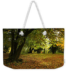 The Beauty Of Autumn Weekender Tote Bag by Annie Snel