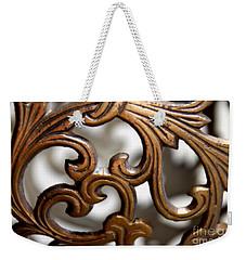 The Beauty Of Brass Scrolls 1 Weekender Tote Bag