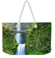 The Beauty Of Multnomah Falls Weekender Tote Bag