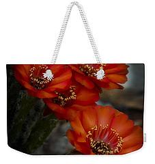 The Beauty Of Red Weekender Tote Bag