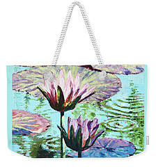 The Beauty Of The Lilies Weekender Tote Bag