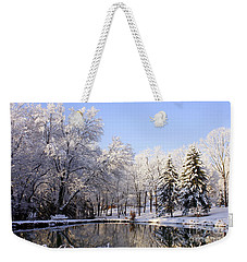 The Beauty Of White Weekender Tote Bag