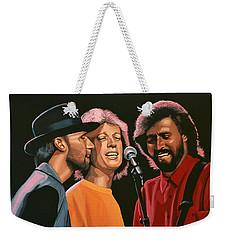 The Bee Gees Weekender Tote Bag by Paul Meijering