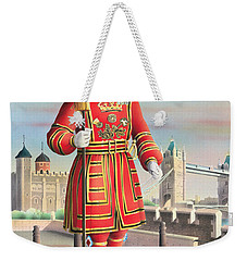 The Beefeater Weekender Tote Bag by Peter Green