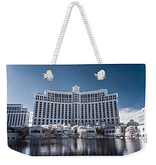 The Bellagio Hotel And Casino In Infrared Weekender Tote Bag