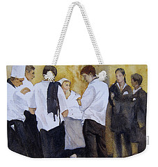The Big Night Weekender Tote Bag